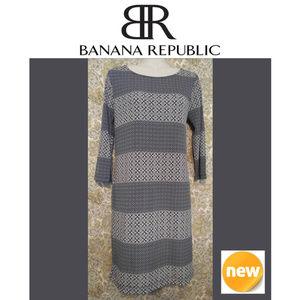 NEW Banana Republic Women's Blue Dress ~ Size XS